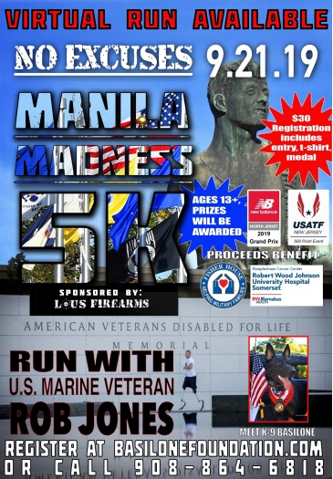 Manilla Madness 5k The Manila Madness 5K is a Running race in Raritan, New Jersey consisting of a 5K.