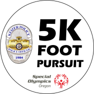 5K Foot Pursuit The Diabuddies Dash is a Running race in Keizer, Oregon consisting of a 10K, 5K.