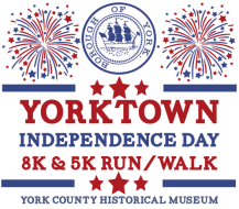 Yorktown Independence Day 8K The Yorktown Battlefield Runs is a Running race in Yorktown, Virginia consisting of a 5K.