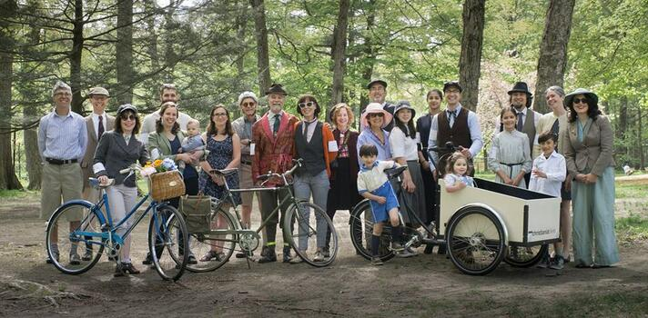Springtime Tweed Ride