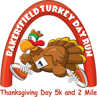 Bakersfield Turkey Day Run The Bakersfield Hot Fudge Sundae Run is a Running race in Bakersfield, California consisting of a 5K.