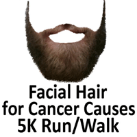 Facial Hair for Cancer Causes 10K/5K