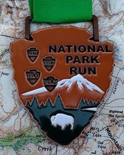 National Parks Run/Celebrate the Big Three