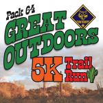Pack 64 Great Outdoors 5K Trail Run