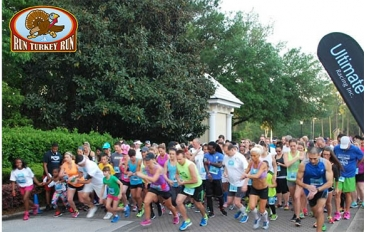 The Run Turkey Run is a Running race in St Augustine, Florida consisting of a 5K.