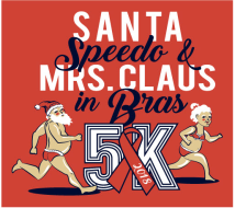 Santa Speedo and Mrs. Claus in Bras 5K Review