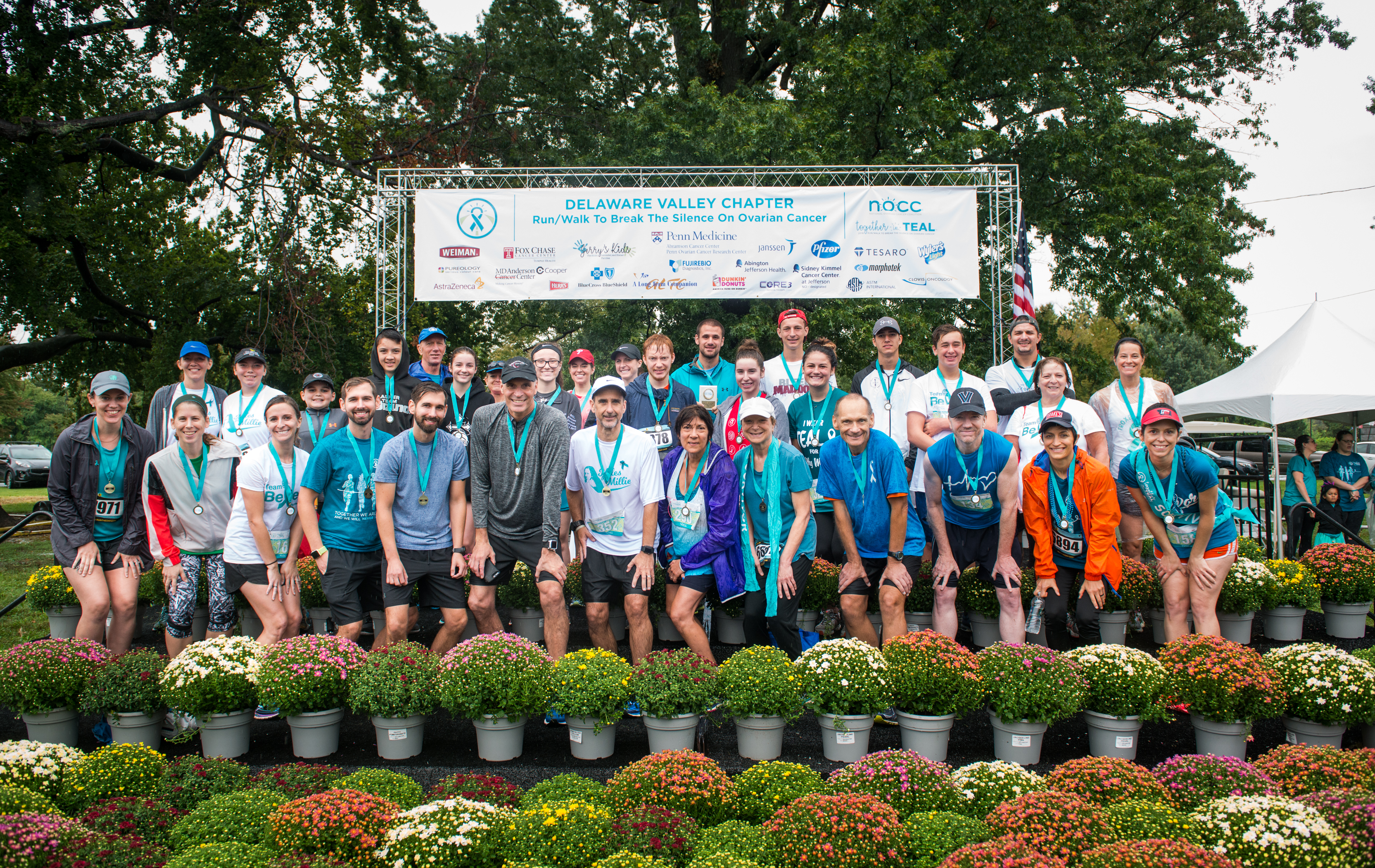 Together In Teal Former Break The Silence On Ovarian Cancer