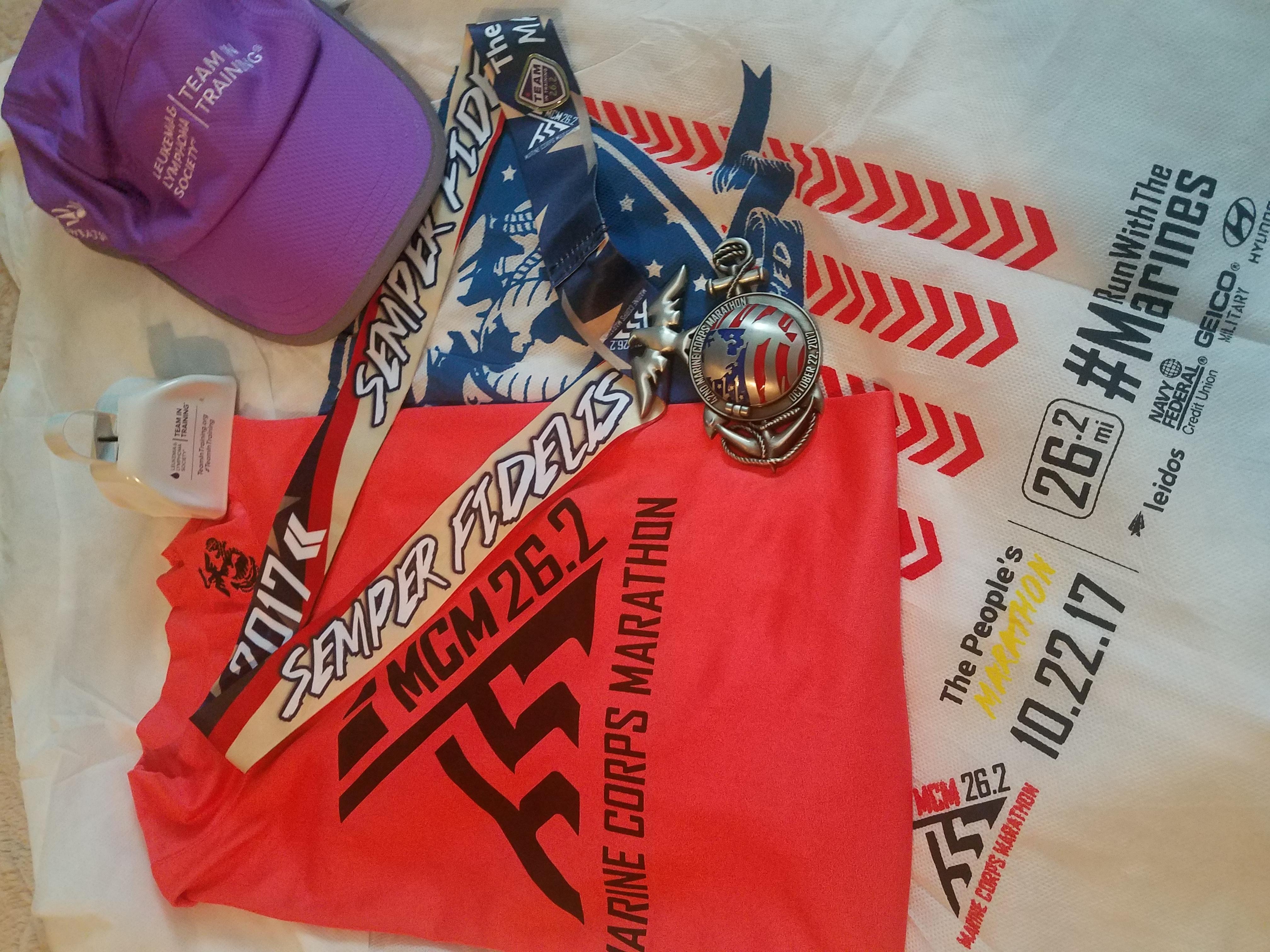 Marine corps marathon washington dc marathon for Marine corps marathon shirt 2017