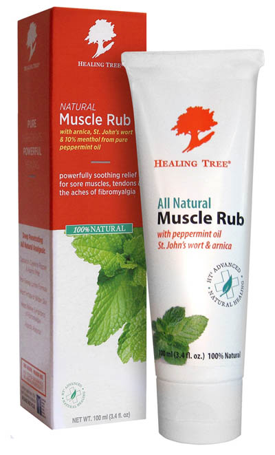 All Natural Healing Tree Muscle Rub