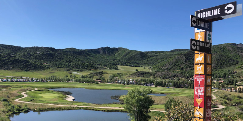 Finding your way around Ragnar Snowmass is easy as cake