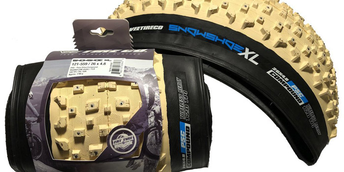 Snow Shoe XL Studded Fat Tires